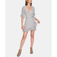 1.State Ruffly-Flounce Dress (Natural, 12)
