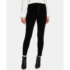 1.State Women's Zipper Corduroy Skinny Pants