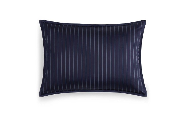 1872 Florenza 100% Pima Cotton 400 Thread Count King Sham Navy