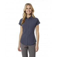 32 Degrees Women's Outdoor Performance Top Button Down Shirts