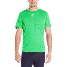 Adidas Men's Active Performance Sequentials T-Shirt (Green / X-Large )