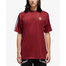 Adidas Men's Originals B-Side Printed-Back T-Shirt (Medium Red, XXL)
