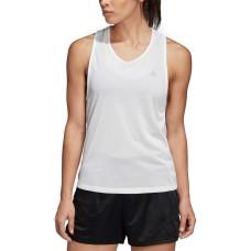 adidas Tennis Club Tie-Back Tank Top (White, XS)