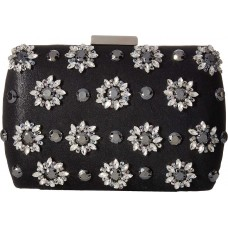 Adrianna Papell Vail Refined Clutch – Black