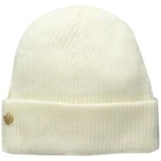 AK Anne Klein Women's Fisherman Rib Cuff Hat, Quartz, One Size