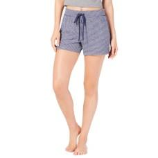 Alfani Hacci Striped Sleep Shorts (Navy, S)
