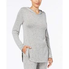 Alfani Hooded Pajama Top (Charcoal, 3XL)