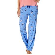 Alfani Knit Floral Printed Pajama Pants (Navy, 3XL)