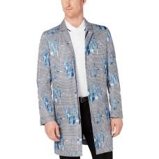 Alfani Mens 3/4 Length Modern Fit  Overcoats