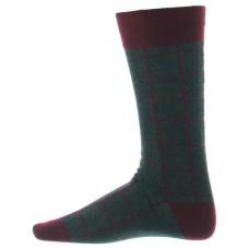 Alfani Men's Alfa Tech Seamless Socks (Charcoal Burgundy)