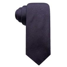 Alfani Men's Circle Dot Slim Silk Tie (Purple)