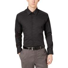Alfani Men's Classic/Regular Fit Diamond Print Dress Shirts