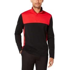 Alfani Men's Ottoman Textured Quarter-Zip Sweatshirts