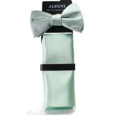 Alfani Men's Satin Cocktail Party Bow Ties & Pocket Square Sets