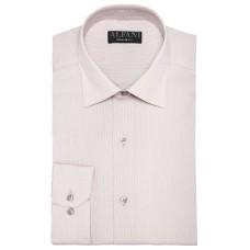 Alfani Men's Striped Print Regular Fit Dress Shirts
