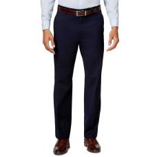 Alfani Mens Twill Flat Front Trouser Pants (Navy, 42X30)