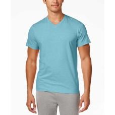Alfani Men's V-Neck Undershirts (Aqua Heather, XL)