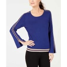 Alfani Petite Varsity-striped Sweater (Andromeda, L)