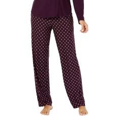 Alfani Printed Pajama Pants (Purple)