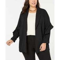 Alfani Women's Flounce-Sleeve Jacket