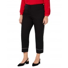Alfani  Women's Plus Size Piped Ankle Pants