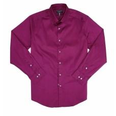AlfaTech by Alfani Men's Slim-Fit Stretch Performance Dress Shirt (Purple, 15-15 1/2 -34/35)