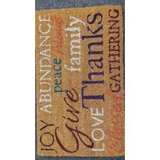 Allure Sentiments Printed Doormat