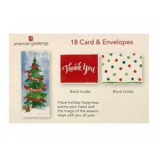 American Greetings 18 Merry Christmas Holiday Cards
