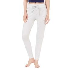Ande Printed Jogger Pajama Pants (White, M)