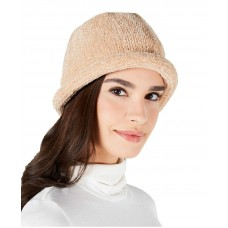 August Hat Chenille Roll-up Hat (Beige)