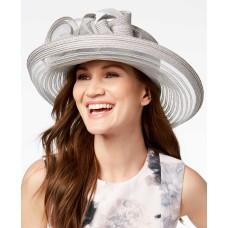 August Hat Citrine Romantic Dressy Hat – Grey