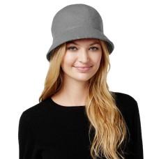 August Hat Co. Women's Melton Love Cloche, Grey, One Size