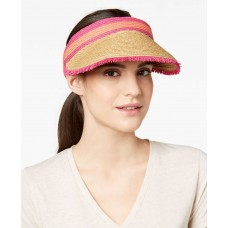 August Hat Colorblocked Women's Straw Visor
