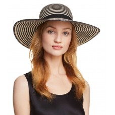 August Hat Company Happy Hour Floppy Hat (One Size, Black)
