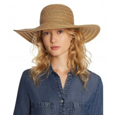 August Hat Company Summer Glow Floppy Hat (One Size, Beige)