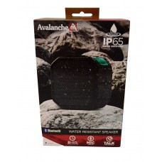 Avalanche Water Resistant Bluetooth Ip65 Outdoor Cube Speaker Black Not Applicable