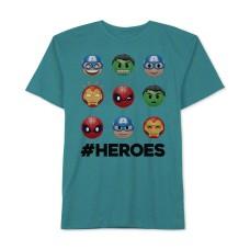Avengers Heroes Graphic-Print T-Shirt, Big Boys
