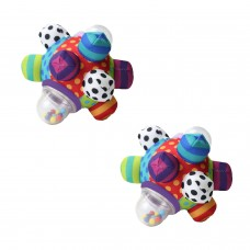 Baby Cognitive Developmental Bumpy Ball Toy Newborns to 6 Months8 Months1 Year and 2 Years Old ToddlersBrain Development Toy for Kids