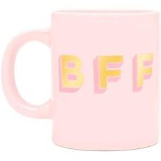 Ban.do BFF Hot Stuff Ceramic Mug (Pink)