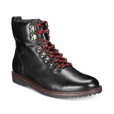 Bar III Men's Kade Alpine Boots (Black, 8)