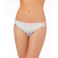 Bar III Shirred Hipster Bottoms Women Swimsuit (Starburst Printed, S)