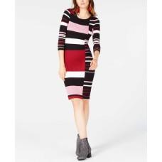 Bar III Striped Sweater Dress (Assorted, 2XL)