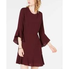 Bar III Women's Burnout Wrap Dress
