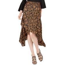 Bar III Women's Ruffled Asymmetrical Maxi Skirts