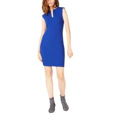 Bar III Women's Split-Neck Bodycon Dress