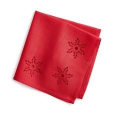 Bardwil 19″ Cutout Napkin (Red)