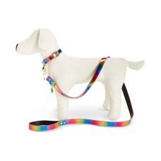 Betsey Johnson 48-in xox Trolls Rainbow Dog Leash (Rainbow)