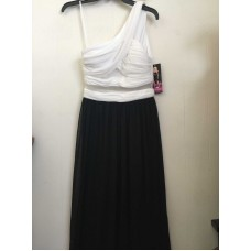 Blondie Nites Black and White Dress (Size: 3)