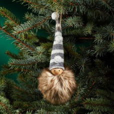 Bloomingdale's Knit Hat Doll Ornament