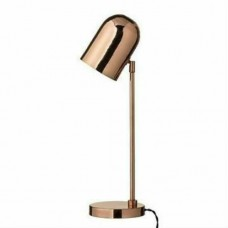 Bloomingville 21.5″ Table Lamp Metal/Copper With On/Off Switch